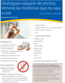 Spanish: Medicine Disposal Program full-page flyer