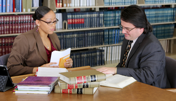 lawyers at the Law Library