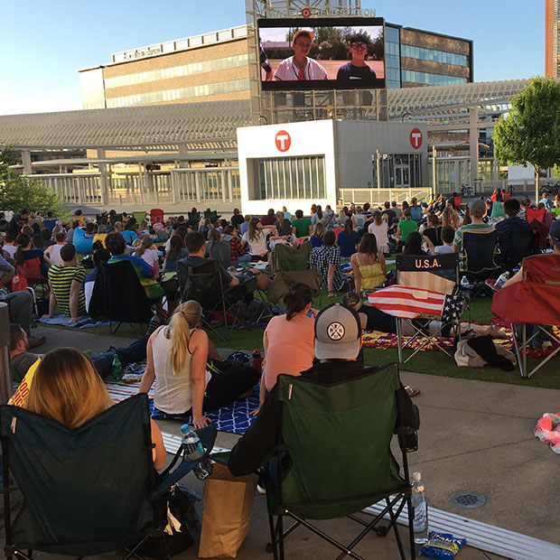 target field station outside movie