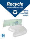 Cardboard recycling poster