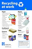recycling at work guide