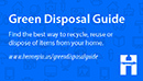 Green Disposal Guide magnet