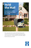 hold the mail brochure image