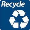 recycling label image