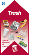 trash label image