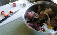 organics recycling at home