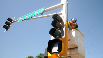 traffic light maintenance